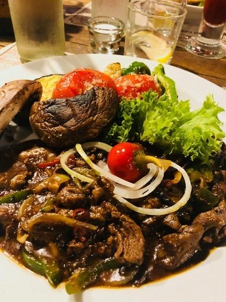 karlovy vary goulash at restaurant Karel IV