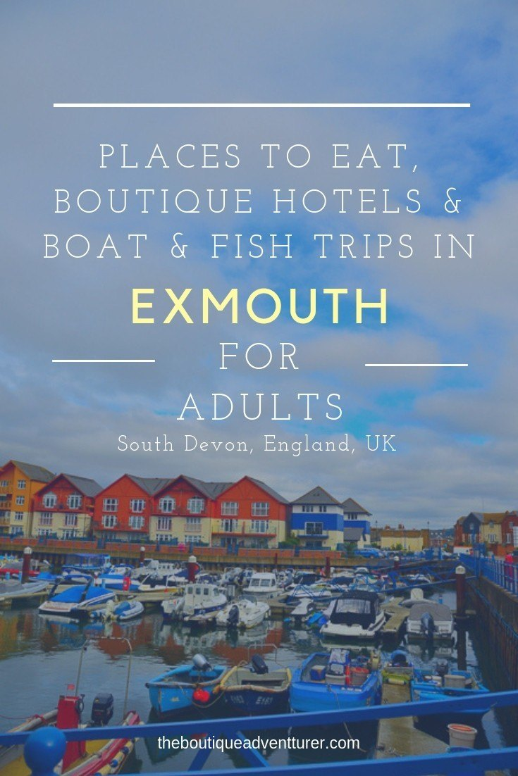 Lovely Exmouth is a must visit in Devon. Here is my boutique guide to the area - Exmouth Boat Trip, Exmouth Fishing Trip, Boutique Hotels Exmouth & the 2 Best Places to Eat in Exmouth #devon#england#devonengland#exmouth#exmouthdevon#exmouthengland#exmouthharbour#exmouthbays#exmouththingstodoin#exmouthtravel#englandtravel#englandthingstodoin#devontravel#devonthingstodoin#devonsouth#devoncoast#devonplacestovisit