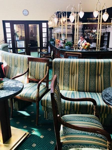hotel imperial bar Marianske Lazne