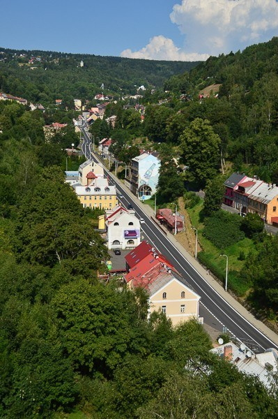 jachymov czech main street