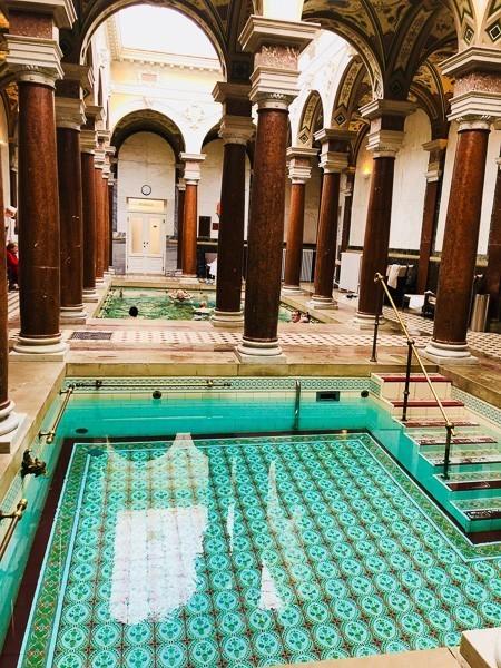roman baths at hotel imperial karlovy vary