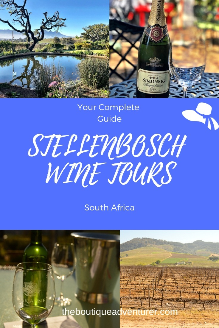 It's far less fun visiting wineries if you're driving. And there is no need when there are so many great Wine Tours Stellenbosch - here is my complete review of all the options available.