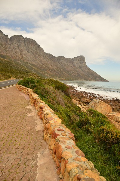 view on the drive from Cape Town to Hermanus