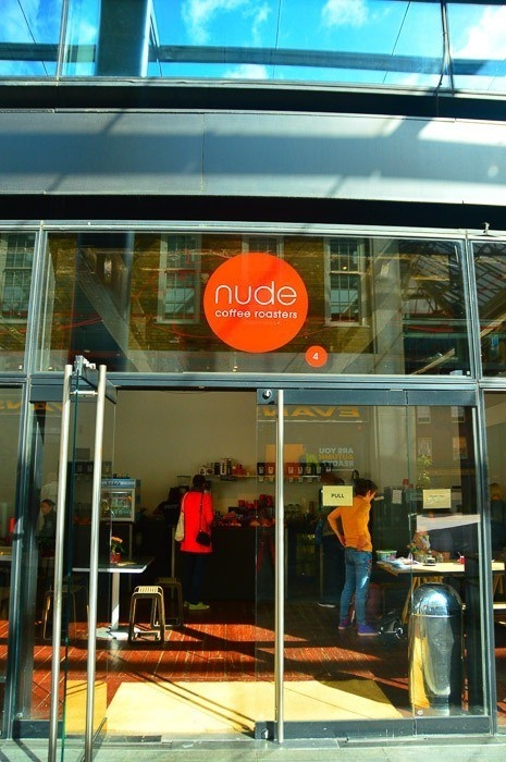 Nude Coffee Roasters in Shoreditch