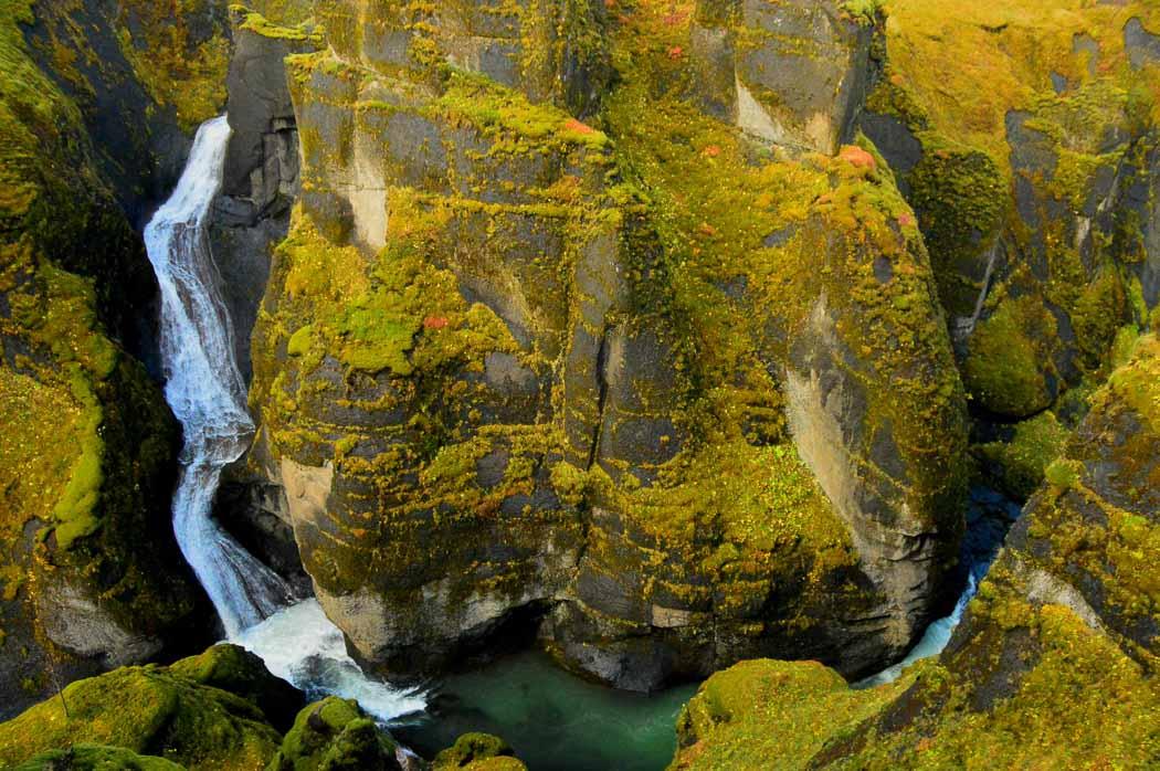 Fjaorarglijufur Canyon Iceland