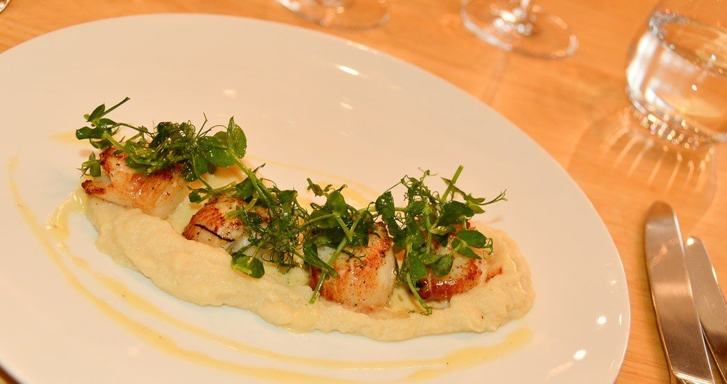 le moulin de varen scallops