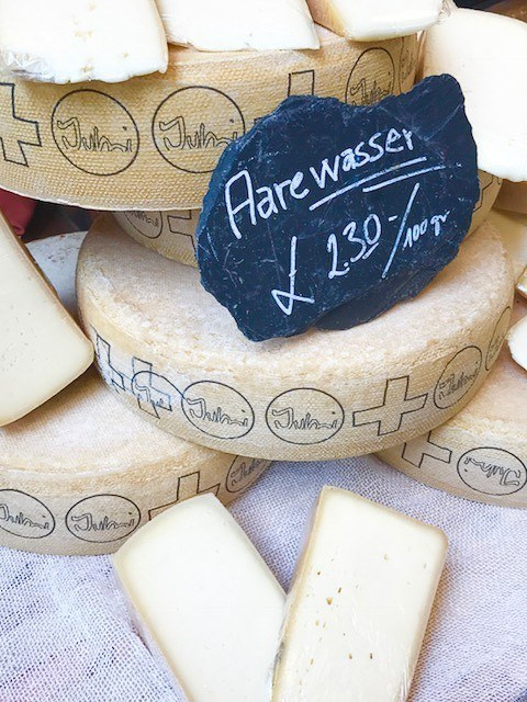 cheese and cheese wheel