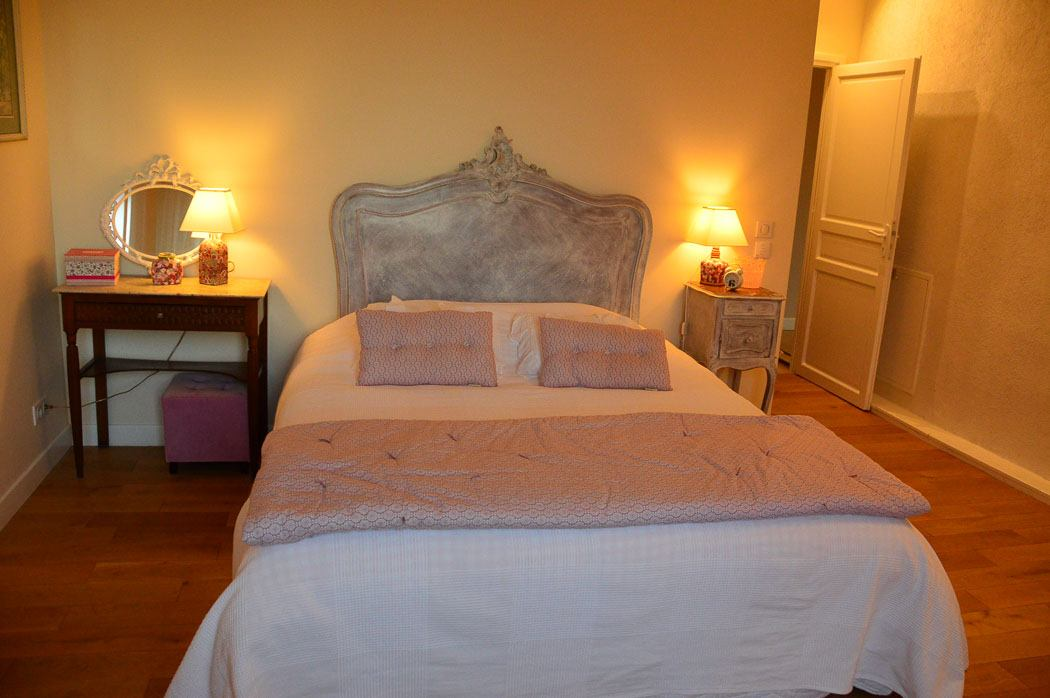 Bedroom at Chateau Peyrot