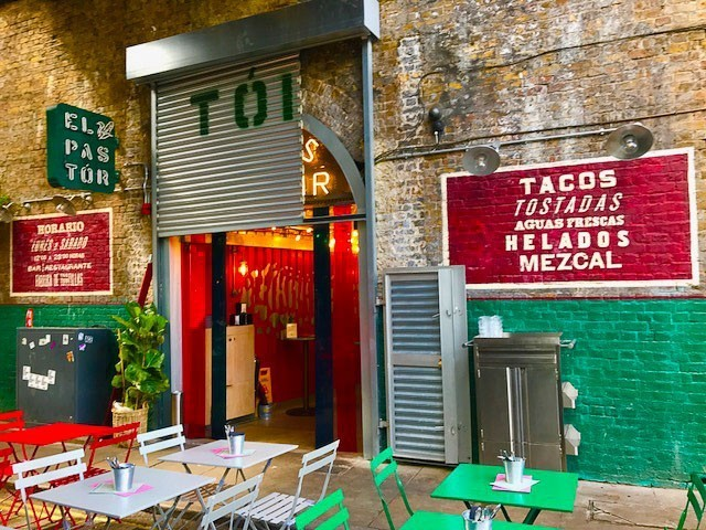 mexican restaurant at borough market