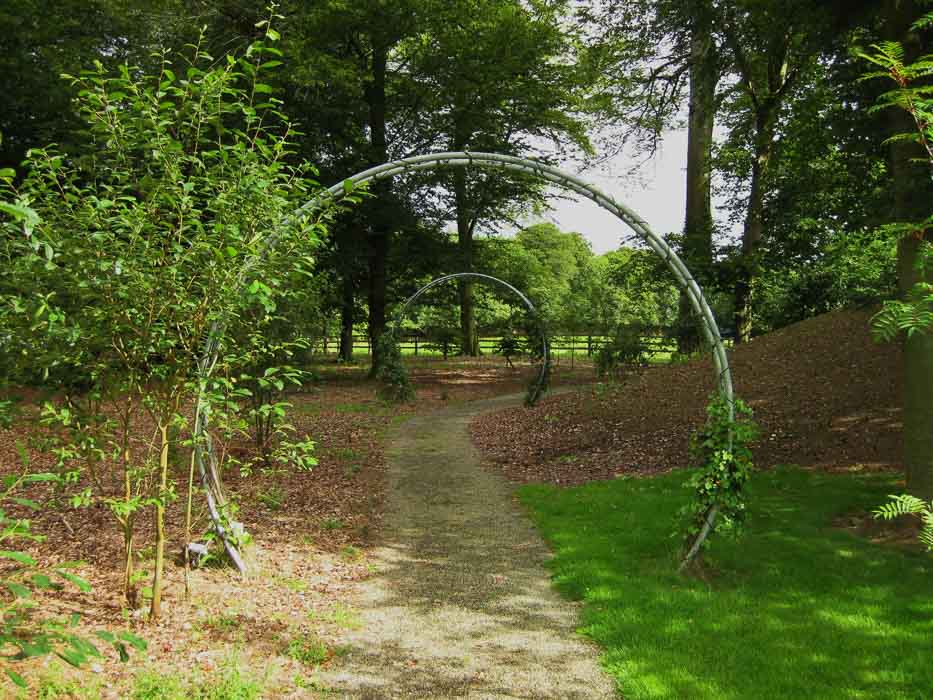 The garden at Monart Spa Ireland