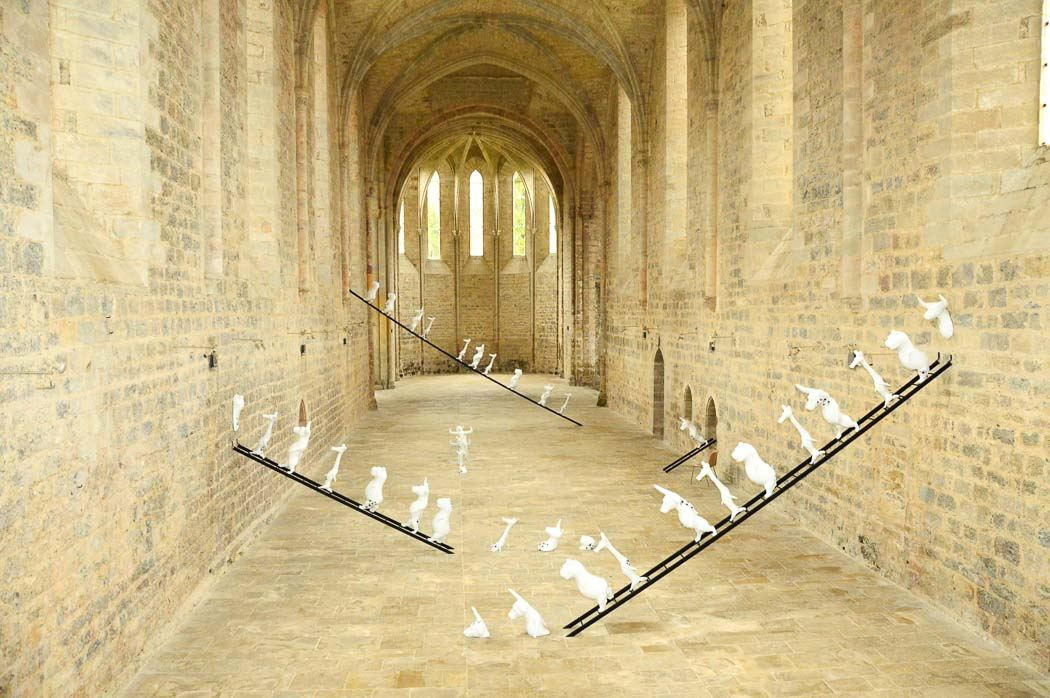 Modern Art in Beaulieu Abbey