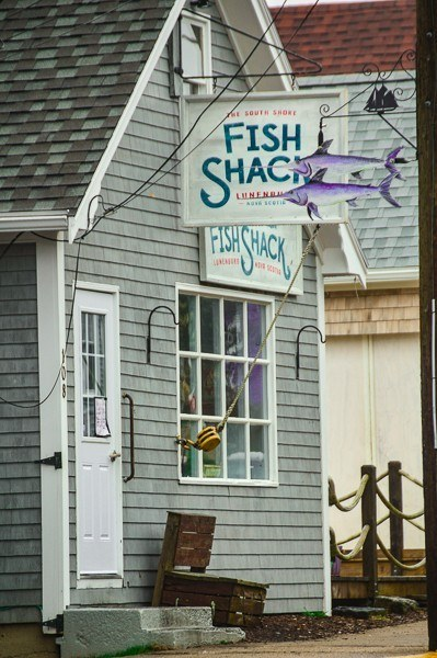 Fish Shack restaurant Lunenburg