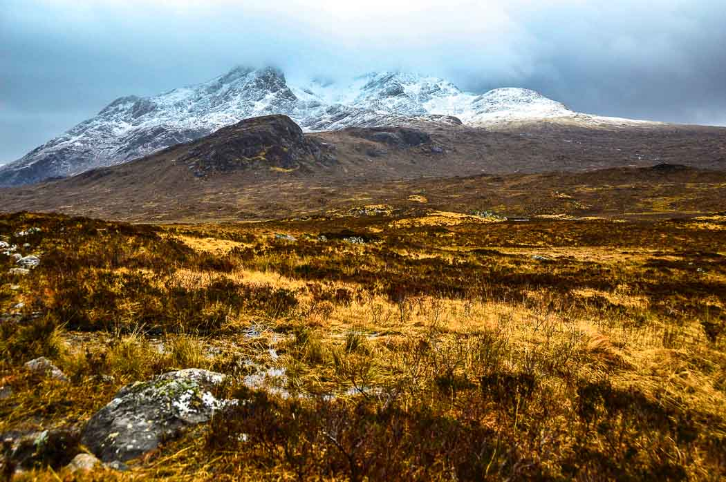 The Cuillin Hills on the Isle of Skye