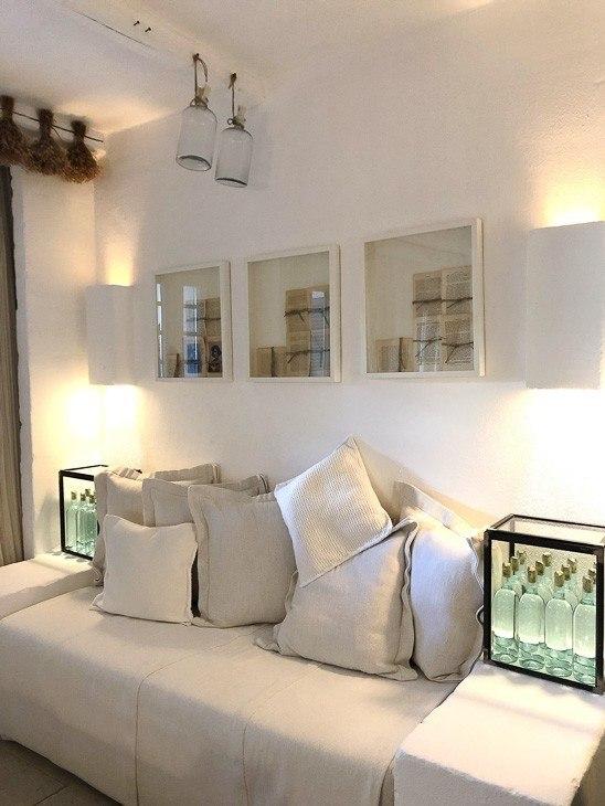 Living room in Villa at Borgo Egnazia