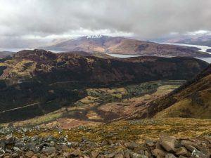 views from the climb up Ben Nevis