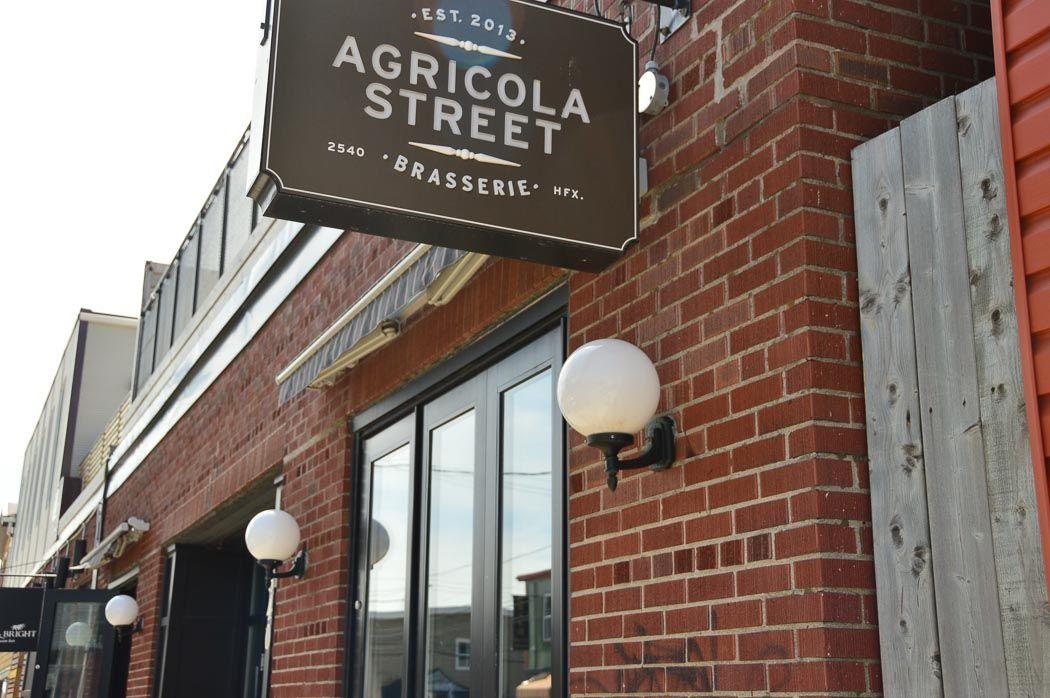 exterior of Agricola Street Brasserie Halifax