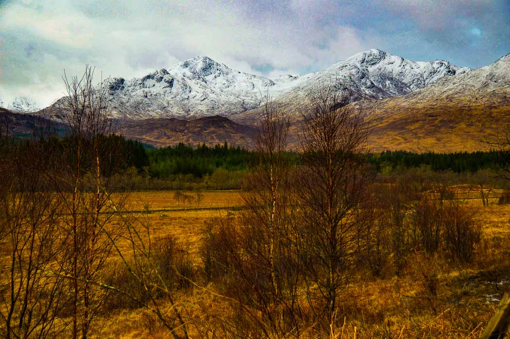photo of the landscape of Glen Coe scotland