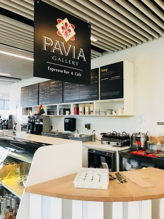 Pavia Cafe at the Halifax Library
