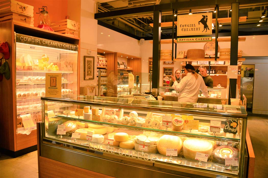 cowgirl Creamery store at the San Francisco Ferry Building