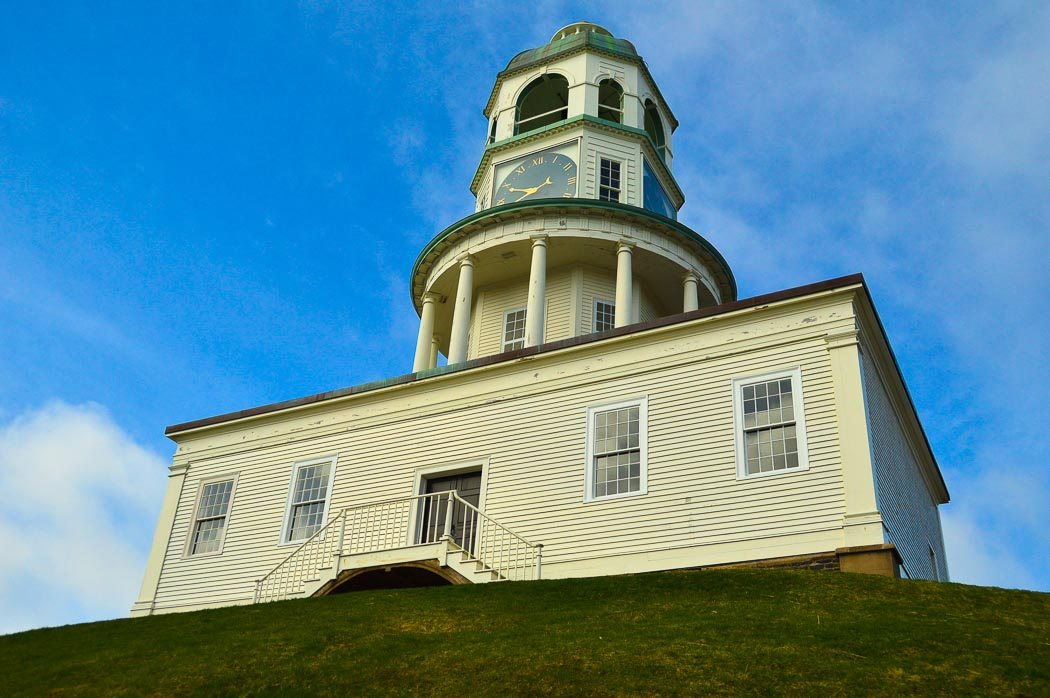 Halifax clocktower on the citadel
