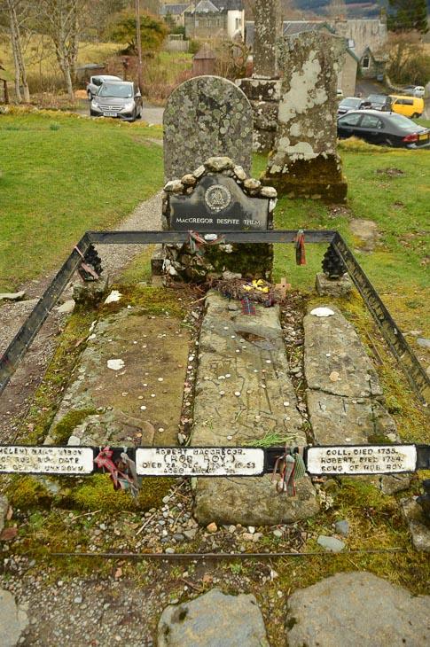 Rob Roy's Grave Scotland