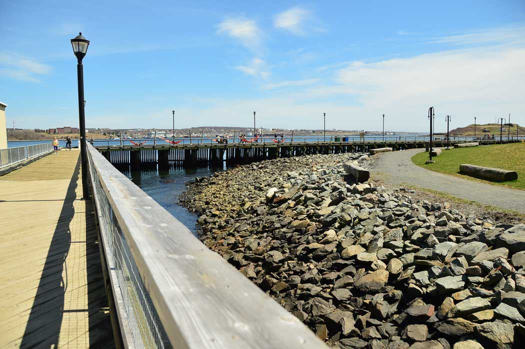 Halifax Waterfront pier