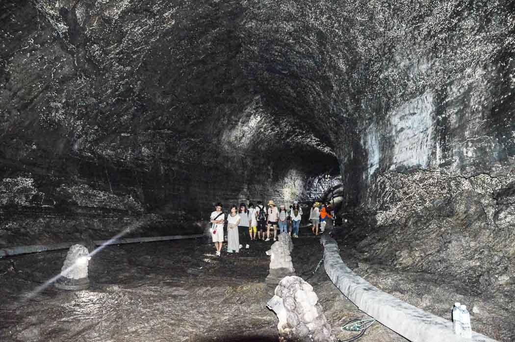 Manjanggul Caves Jeju Island