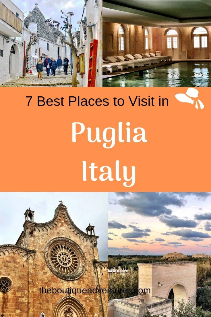 I think the Italians are keeping this area secret! Let's all ruin it for them - here are my 7 Best Places to Visit in Puglia - from Alberobello to Ostuni to Bari and more! #italy #puglia #alberobello