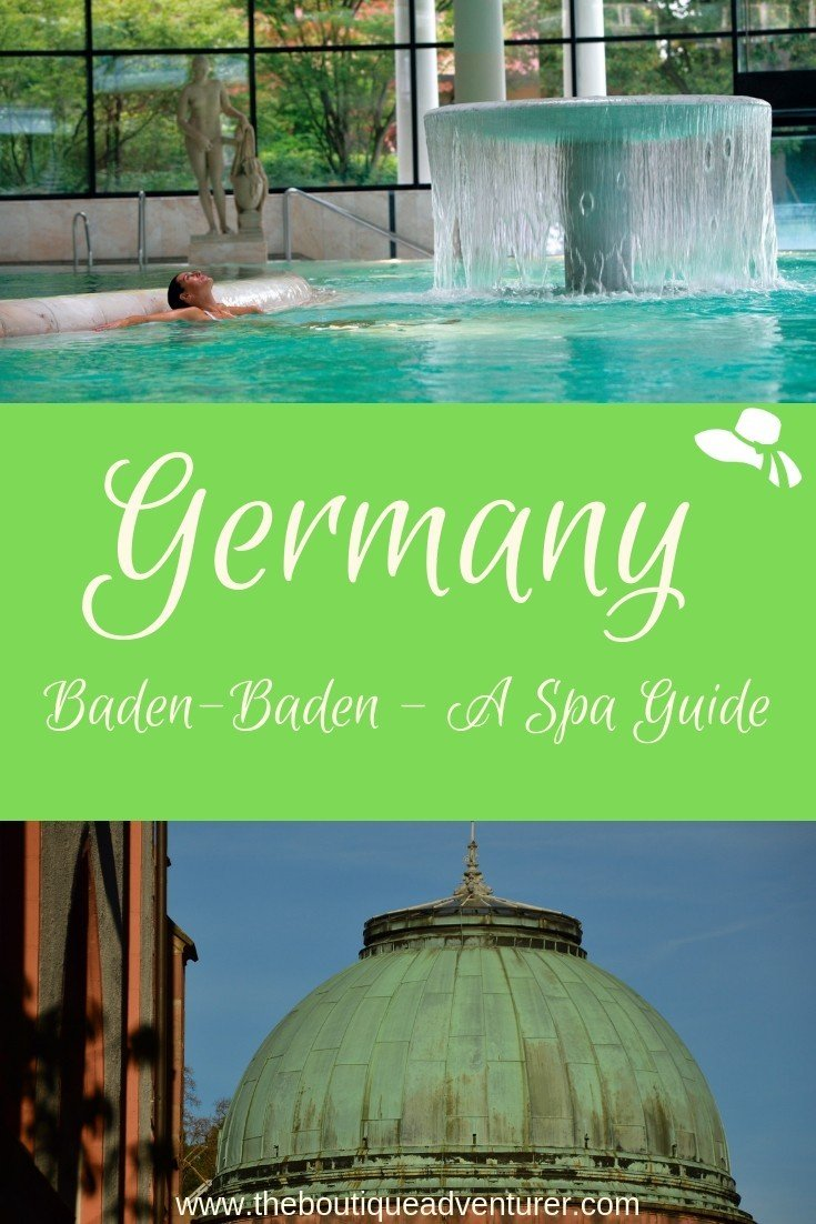 Do you have to get naked for a Baden-Baden spa experience? Here are all the spa options available with clothing levels so you can decide for yourself! #germany #badenbaden #spa
