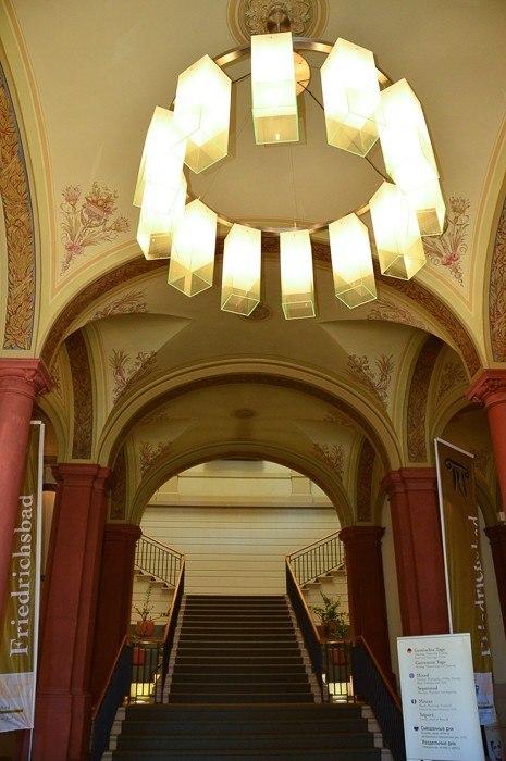 Entrance inside Friedrichsbad spa