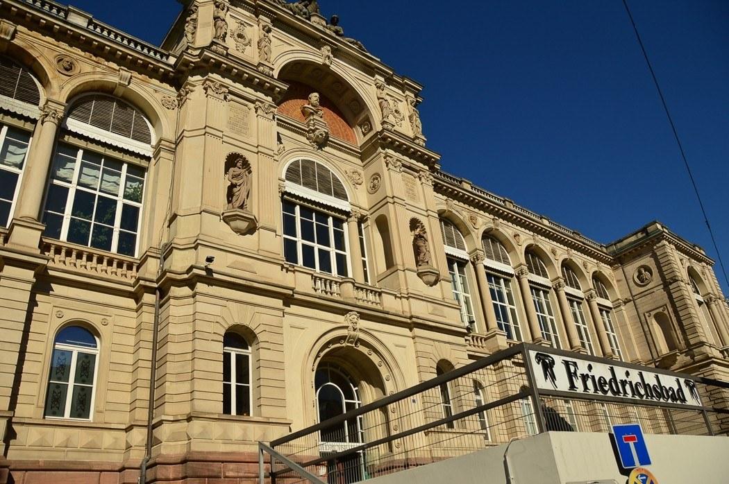 The exterior of Friedrichsbad Spa Baden Baden