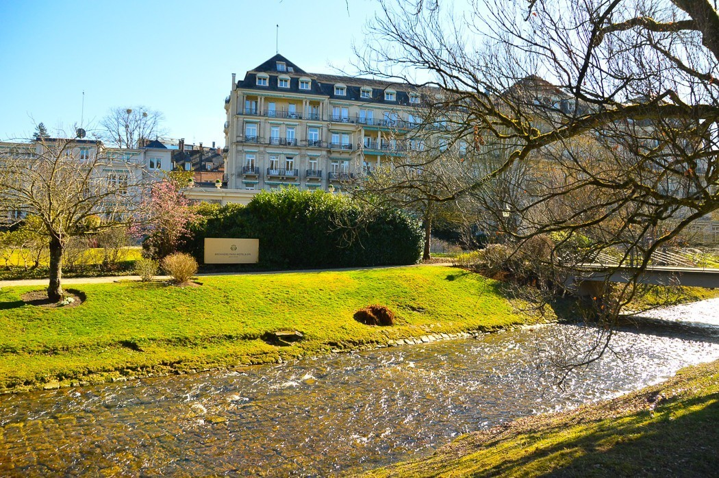 brenners park hotel and spa baden baden seen from Lichtentaler Allee
