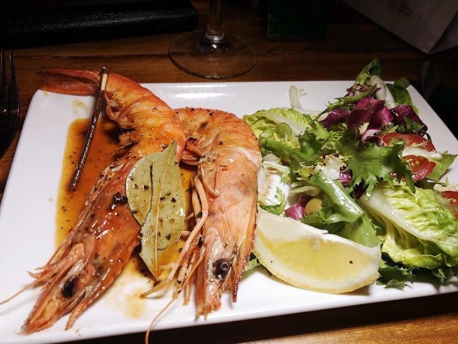 casa-mia-caerphilly-dinner-prawns
