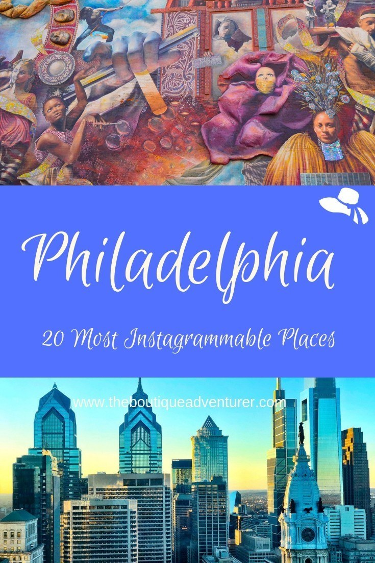 Philly is full of great Instagram captions and photos! So many American firsts were in this stylish city add a well funded public arts program and it is insta heaven! #philadelphia #instagram #philadelphiainstagram #philly