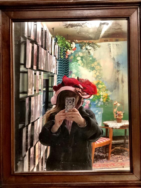 Selfie at the Art Nouveau Museum