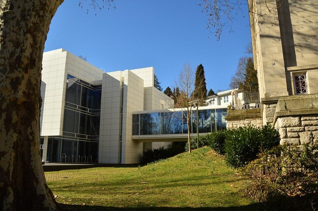 Buildings along Lichtentaler Allee Baden Baden