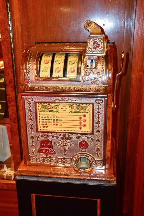 slot machine at Baden Baden casino