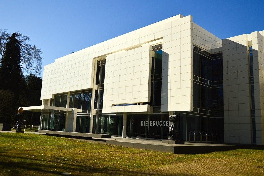Exterior of Modern Art Museum in Baden-Baden