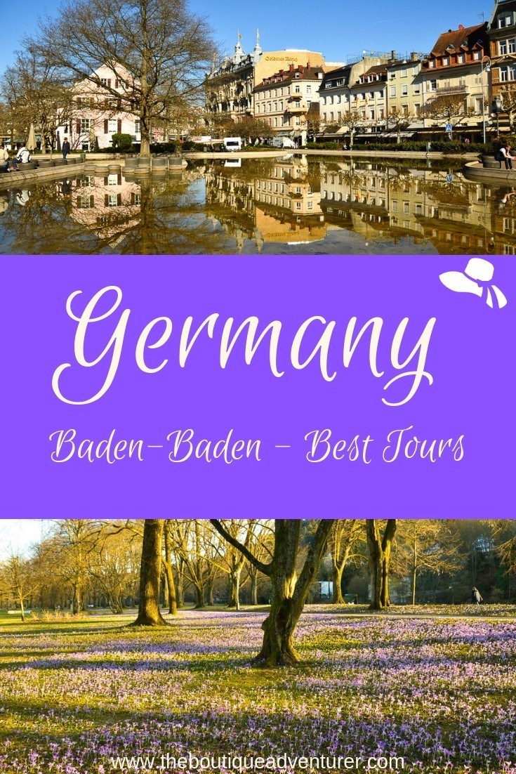 Baden-Baden Germany offers so much - from the amazing Casino to Lichtentaler Allee to some fantastic restaurants. Here are the best tour options in Baden Baden Germany #germany