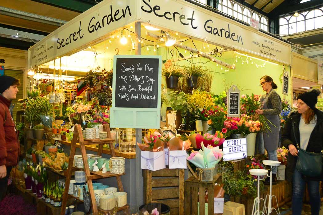 Cardiff-market-flower-stall