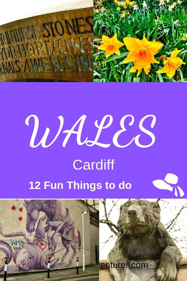 There are loads of quirky and fun things to do in Cardiff Wales. From scientific icecream to lunch in a real prison to WW2 tunnels - all in my post here #cardiff #wales
