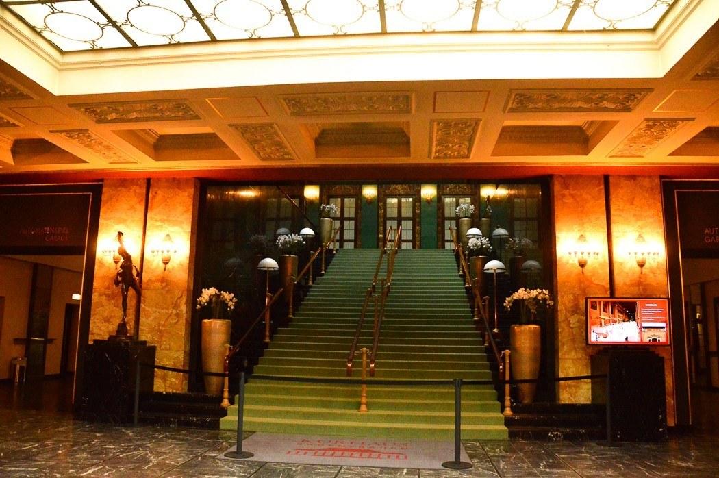 the foyer of the Baden Baden casino