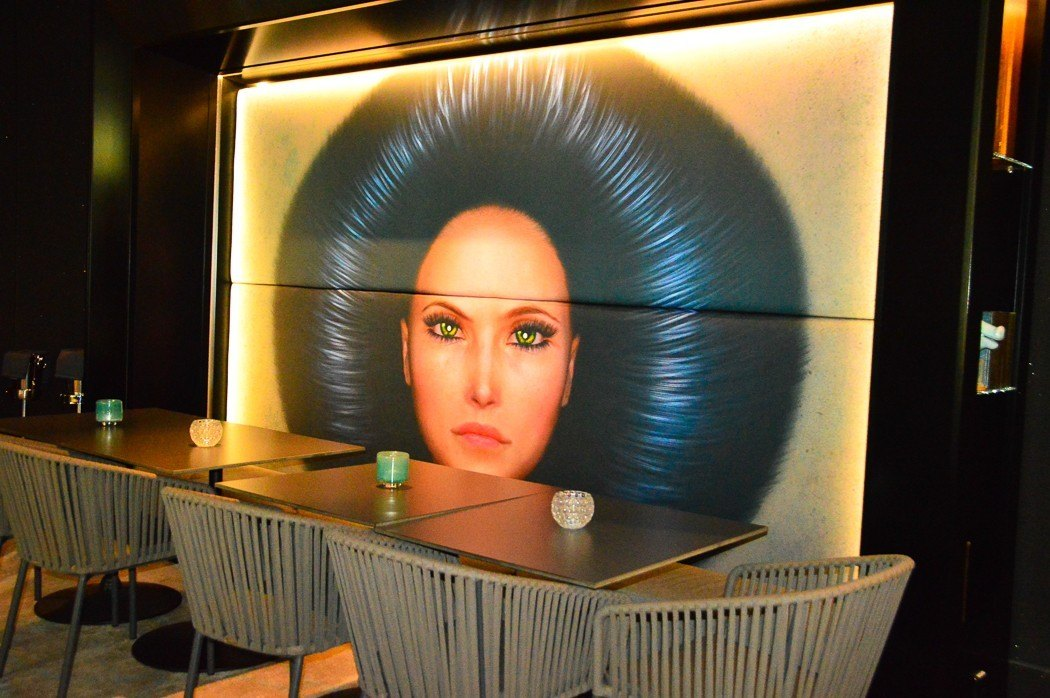 tables and artwork at the Baden Baden casino