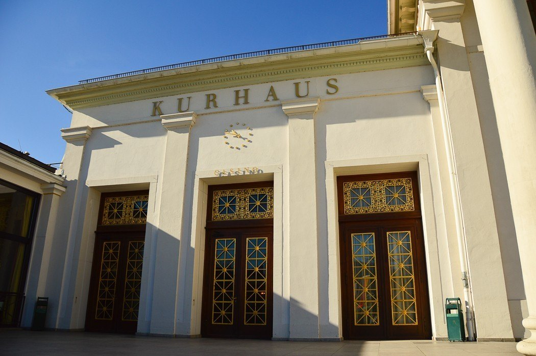 exterior of Kurhaus building Baden Baden