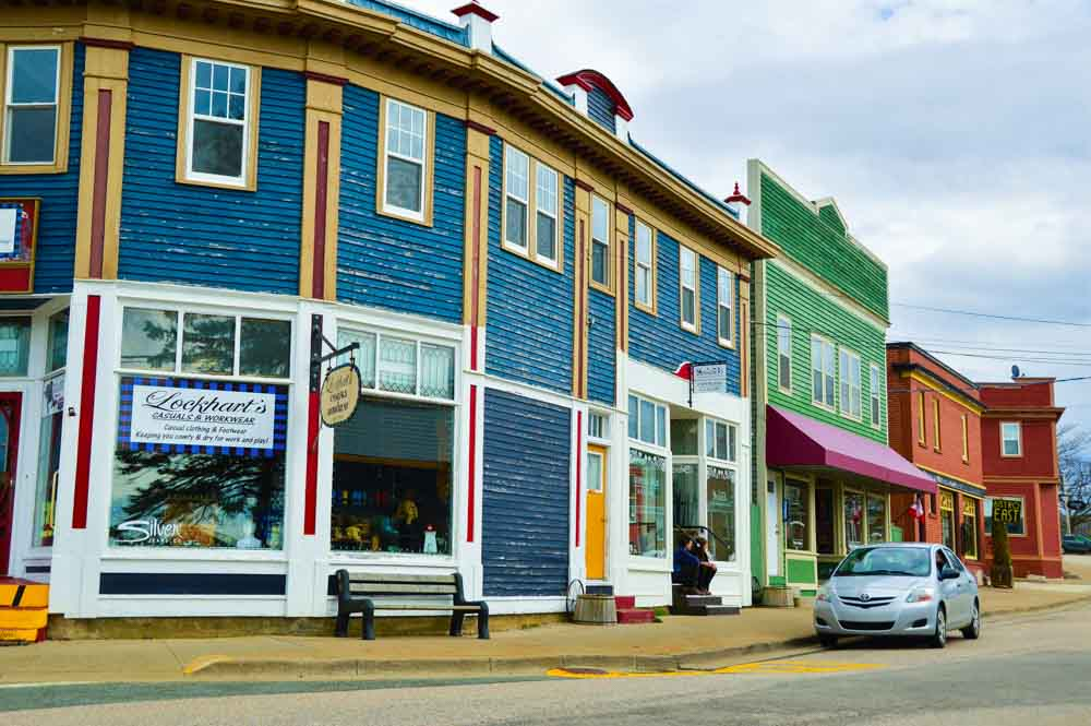 Annapolis Royal main street