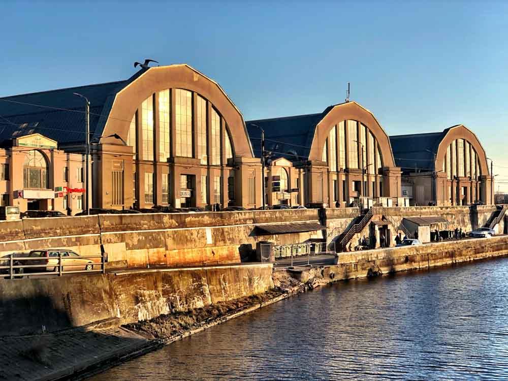 Riga Central Market Hangars