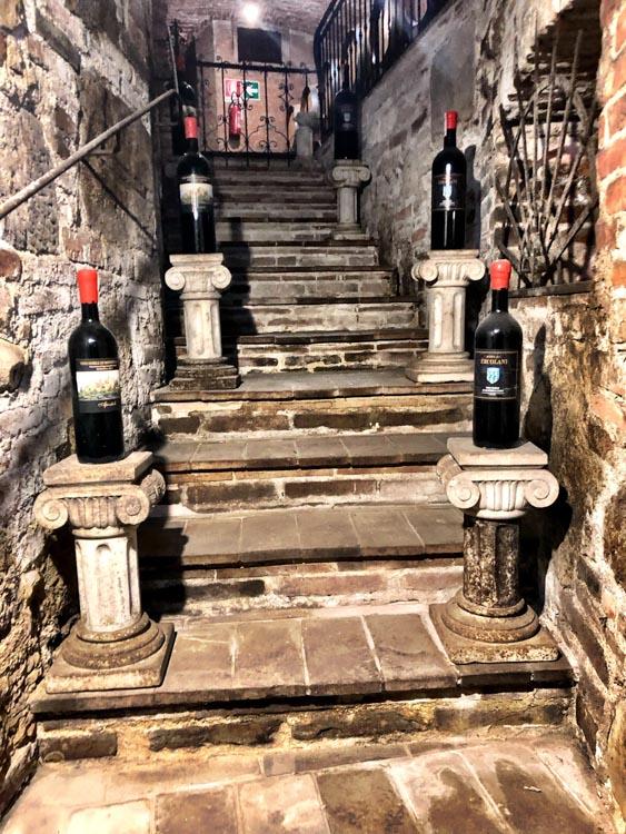 Italy_Montepulciano_ercolani-wine-stairs
