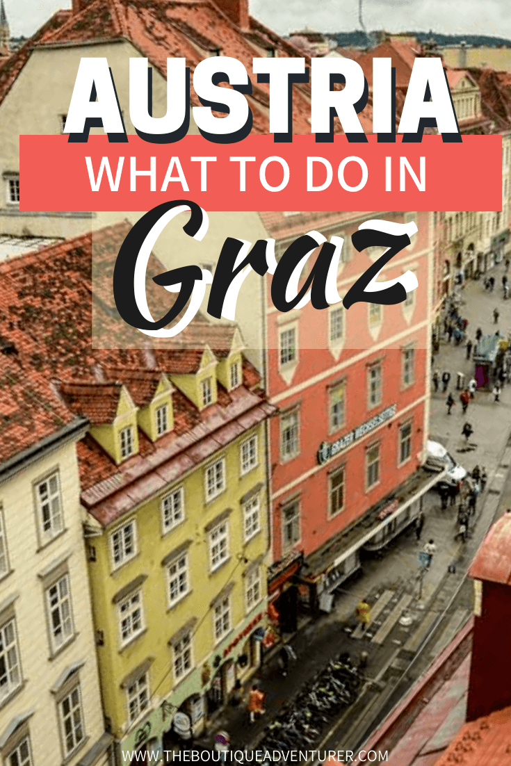 Looking for instagrammable Things To Do In Graz? Find out how to fill your Insta Grid in my post - from the world's longest indoor slide to sculpture parks & rotating lifts & more!