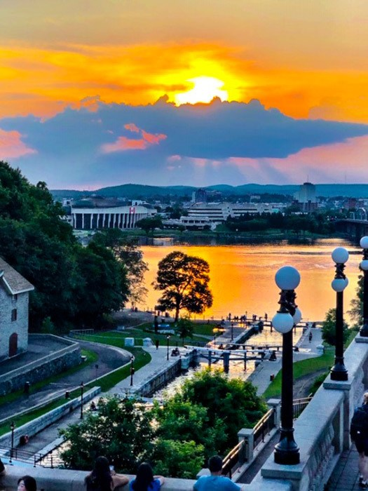 canada_ottawa_sunset