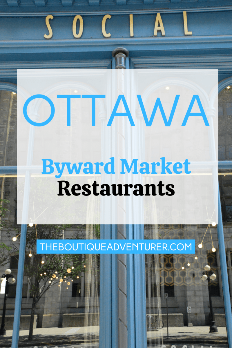 There are some fantastic restaurants in Ottawa these days! The Byward market area of Ottawa has everything from fine dining to a more relaxed night out to great burger restaurants! Find 15 great places to eat in the Byward Market Ottawa in my post! #ottawarestaurants #ottawarestaurantsfood